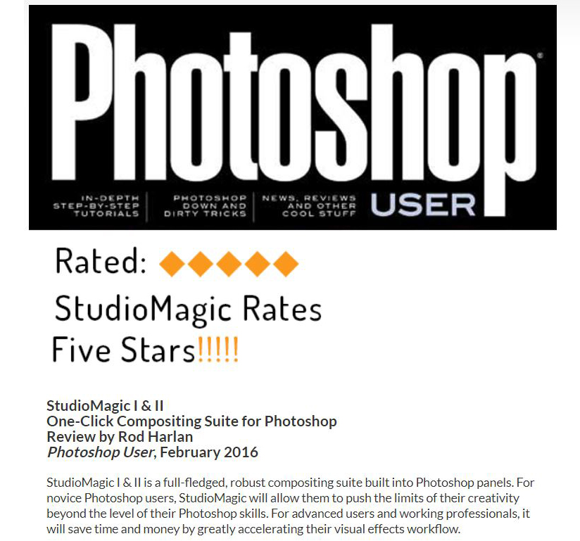 9 - Studiomagic Photoshop plug-in bundle free download