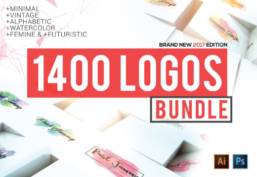 1400 Logos Mega Bundle Pack