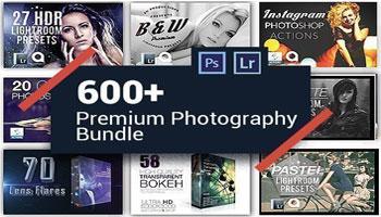 600 Photography Presets Mega Bundle