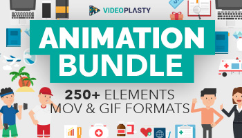Massive Animation Bundle: 250+ Elements [MOV & GIF]
