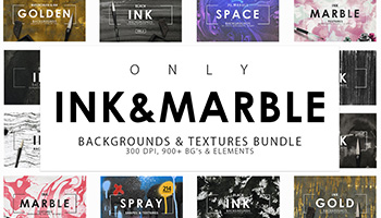 900+ High resolution Ink & Marble Backgrounds Bundle