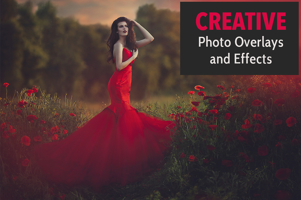 Creative Photo Overlays and Effects with Extended License for only $9