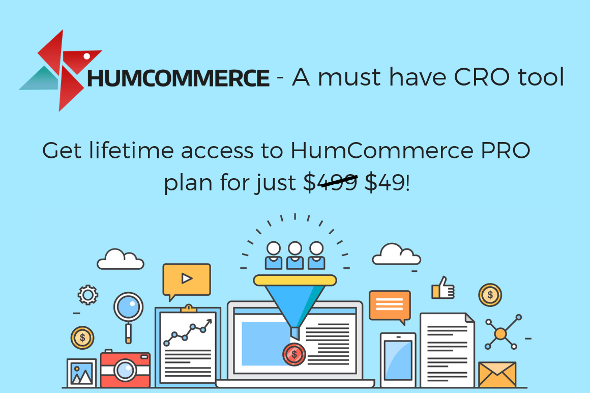 HumCommerce - A must have conversion rate optimization tool