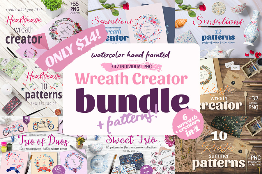 Wreath Creator Bundle + Patterns