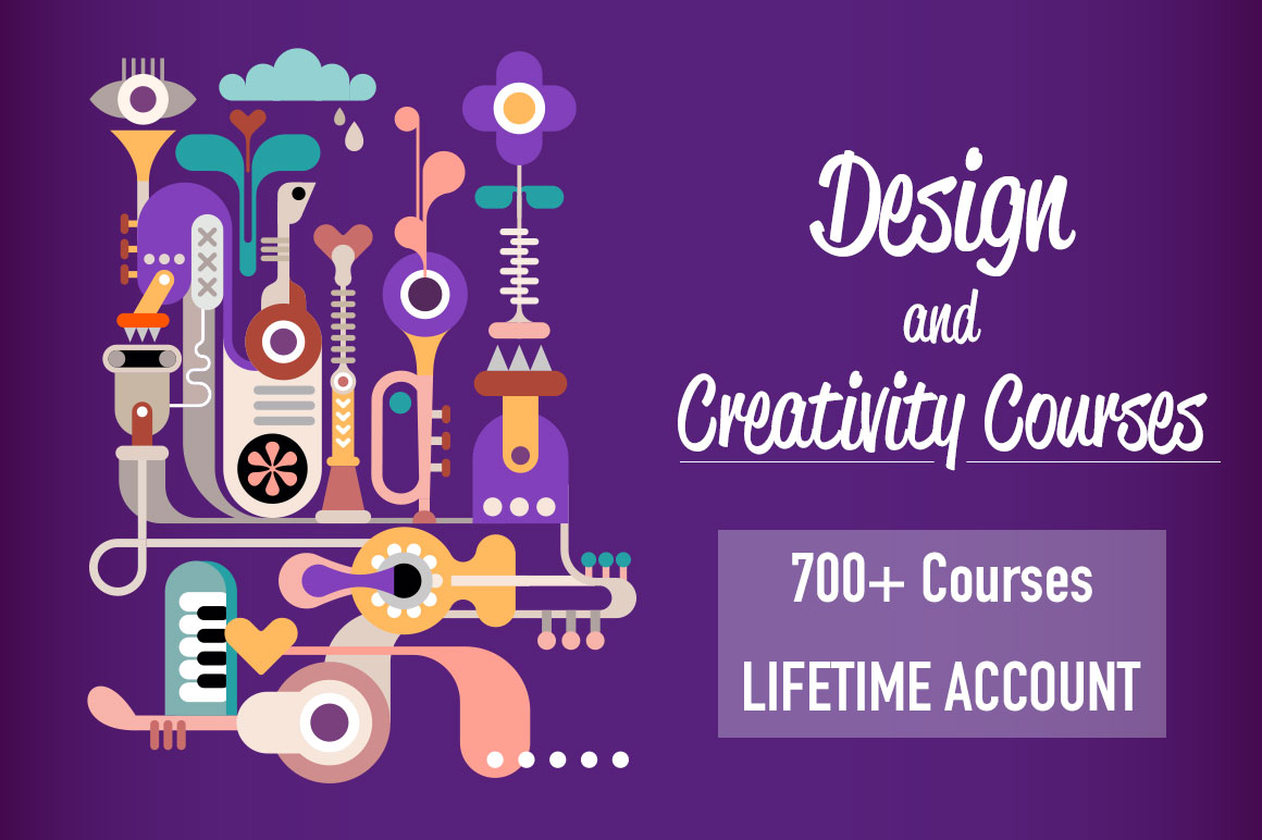 Design & Multimedia Bundle: 700+ Courses & Lifetime Subscription