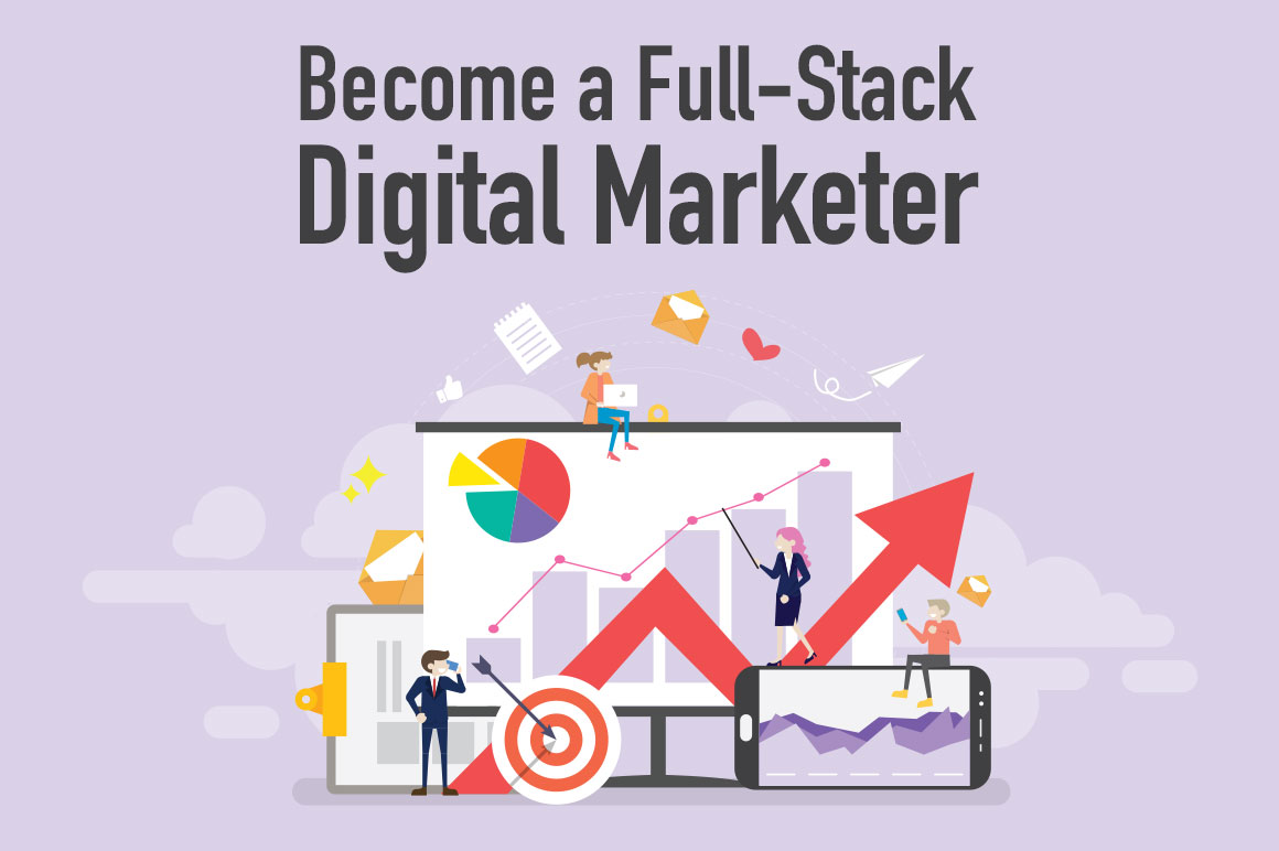 Full Stack Digital Marketing Bundle of 15 Online Courses and Get Affiliate Marketing course Free