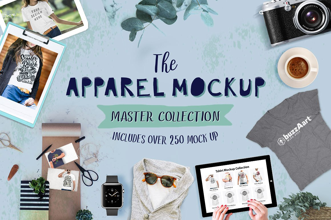 Apparel Mockup Master Collection