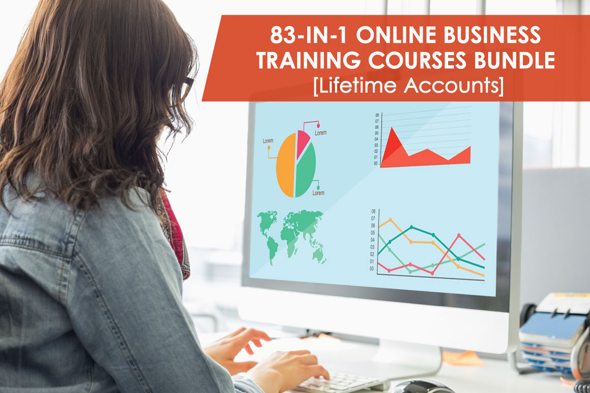 The 83-in-1 Course Bundle to run your own Business [Lifetime Access]