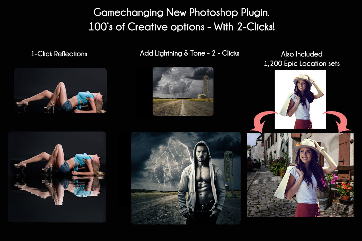 Game Changing StudioMagic Photoshop Plugin and 1,200 Epic Location Sets