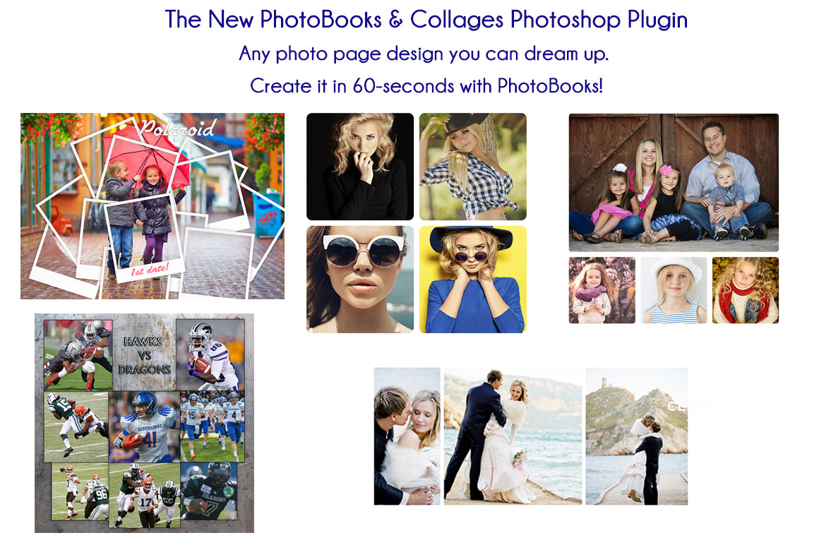 PhotoBooks & Collages Photoshop Plugin