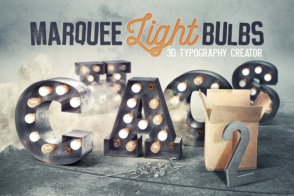 Marquee Light Bulbs 2 – Chaos