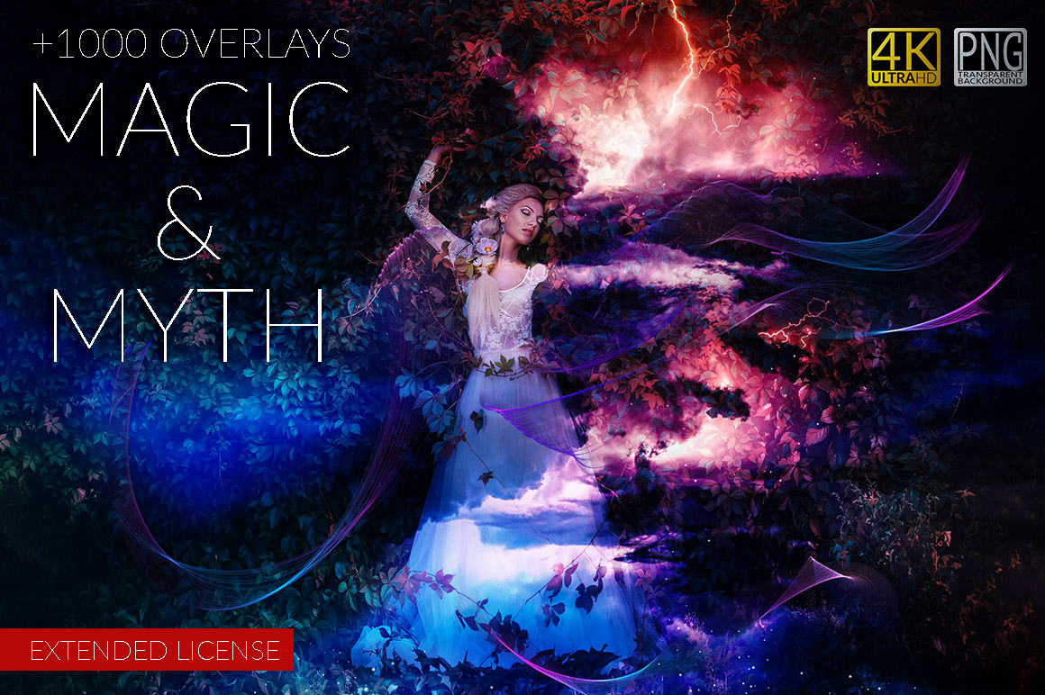 Get 1000+ Magic and Myth Overlays