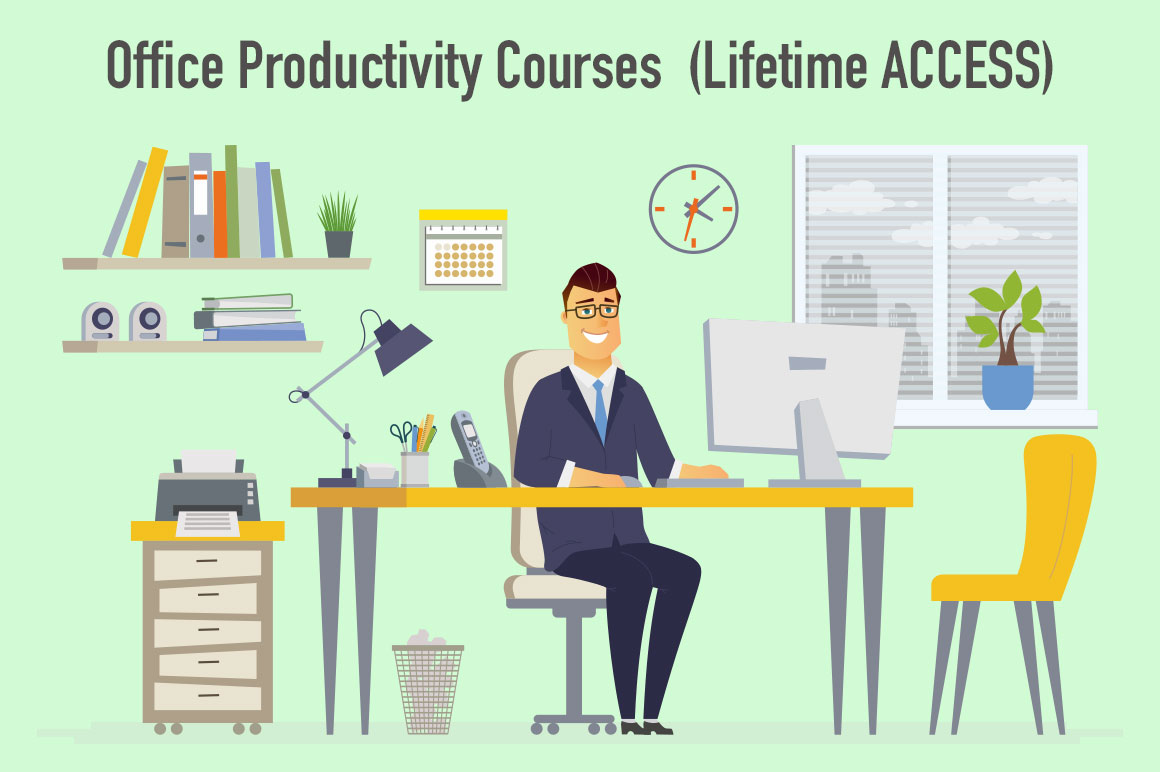A to Z Office Productivity Courses  (Lifetime ACCESS)
