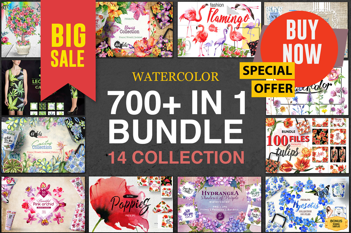 700+ files in 1 BUNDLE 14 collections - only $9