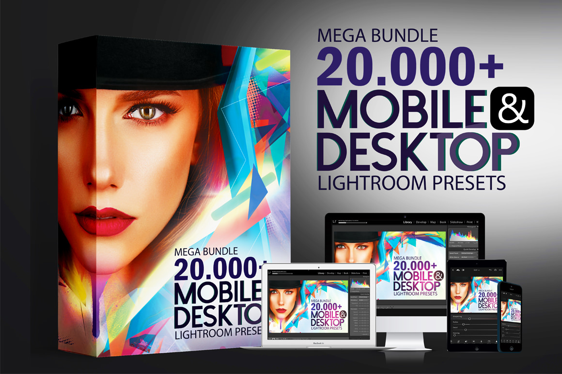 Mega Giant Bundle! 20.000+ Lightroom Presets (Desktop and Mobile)