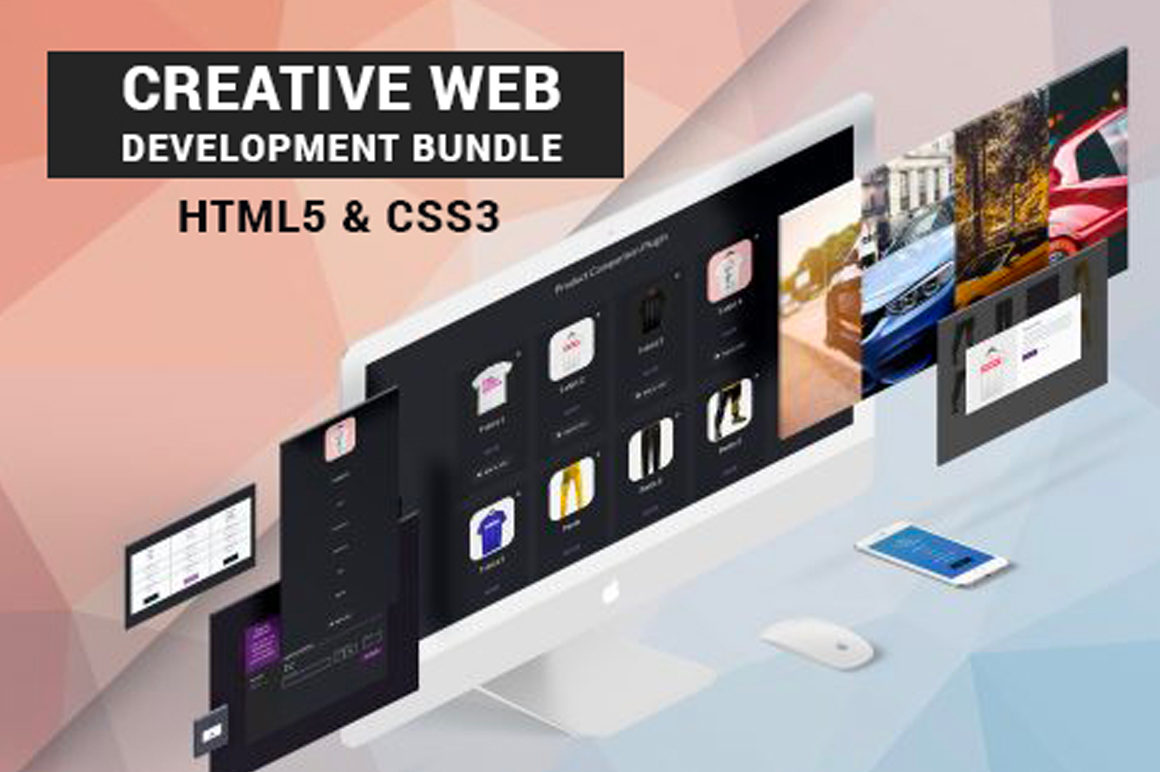 The Creative Web Development Bundle With HTML5 & CSS3 Techniques