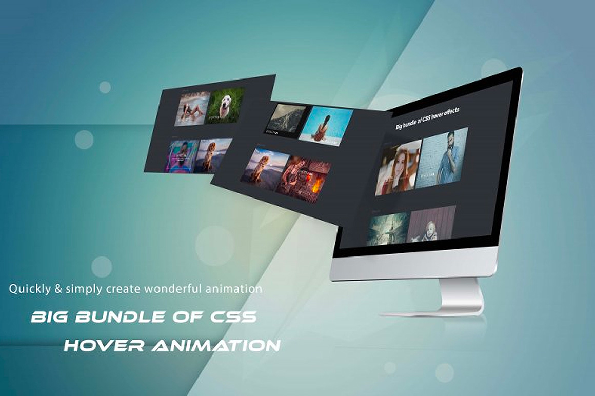 Big Bundle Of CSS Hover Animation And Image Effects