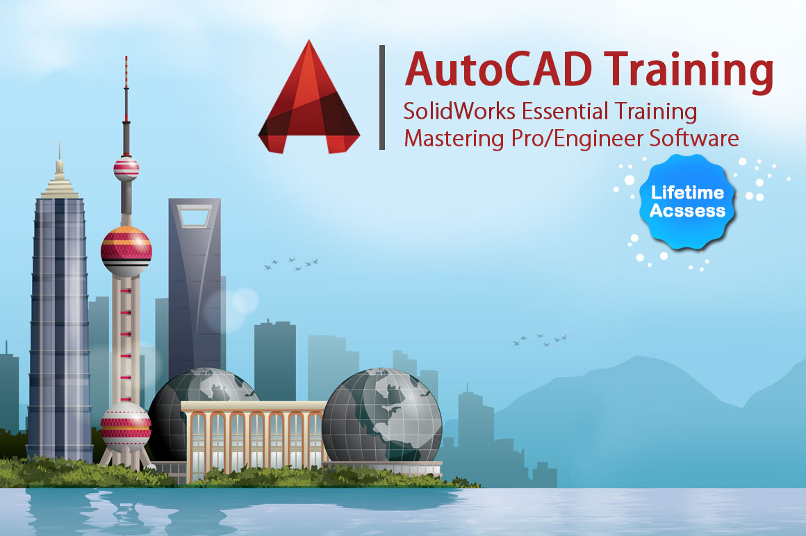 Design Courses - Autocad, Solidworks Essential Training and Mastering Pro