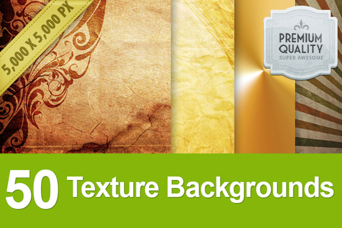 50 High-Quality Texture Backgrounds - only $10