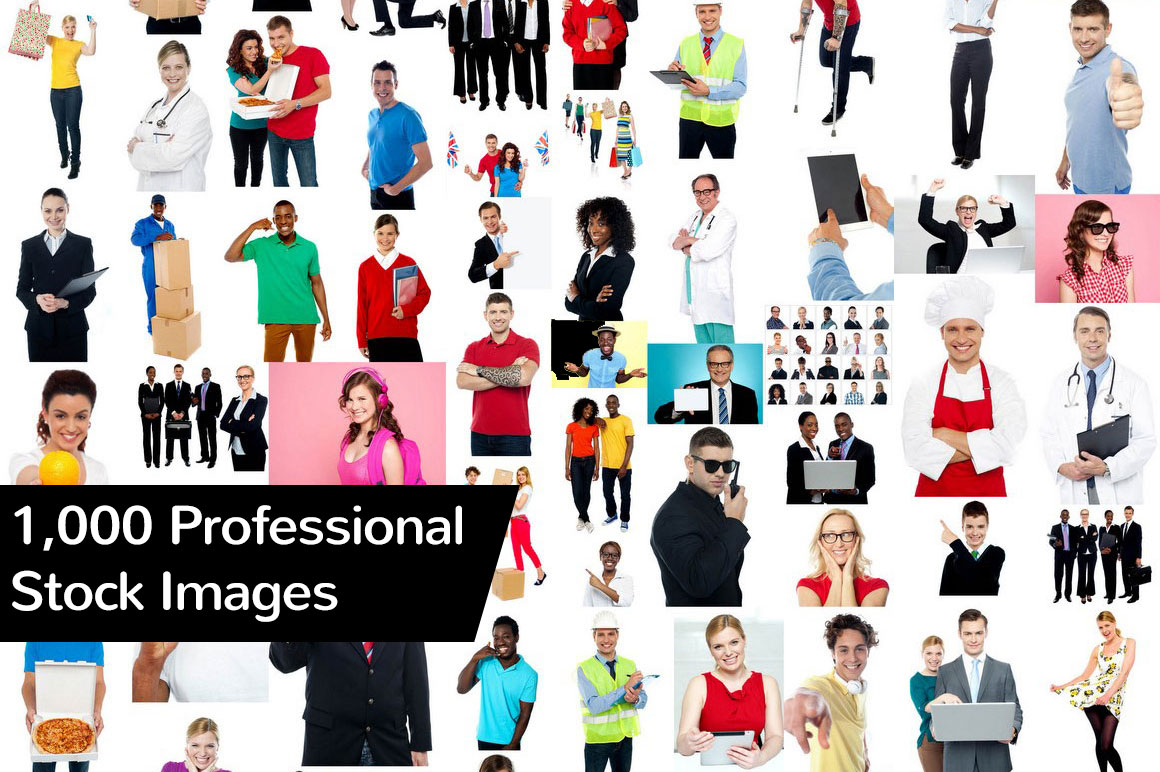 1,000 Professional Stock Images only $37