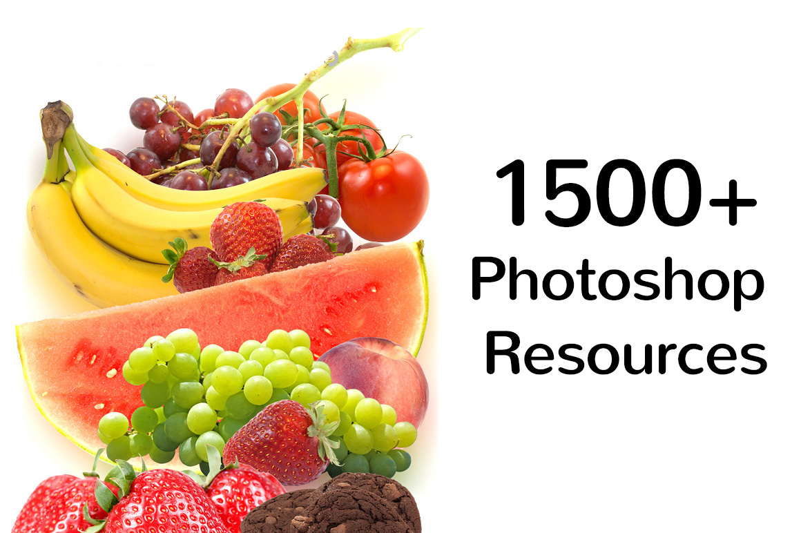 1500+ Photoshop Resources Kit