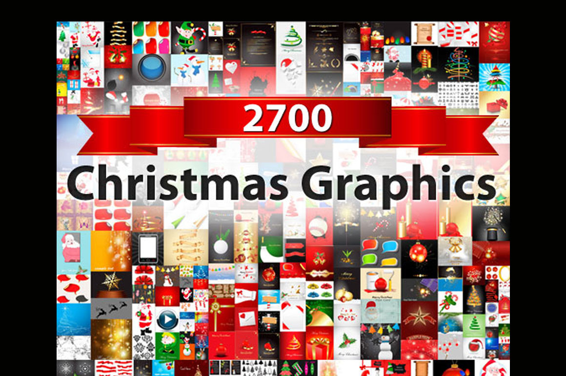 2700+ Christmas Vectors and Graphics