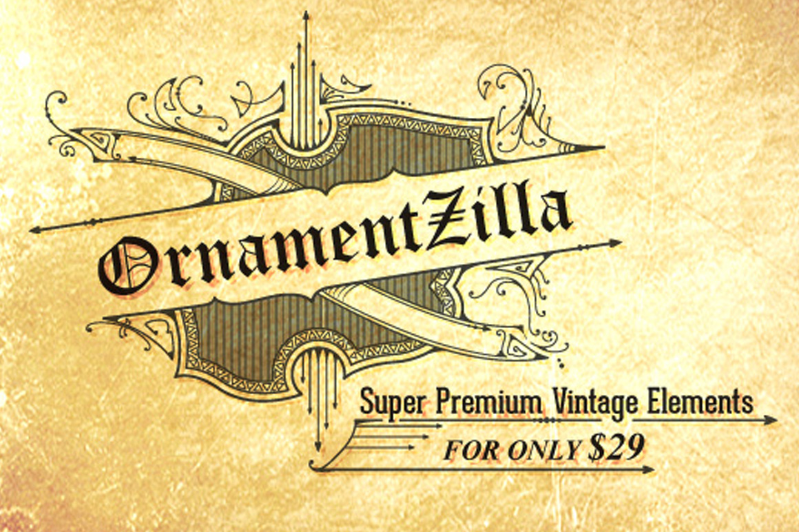 OrnamentZilla - Super Premium Vintage Elements