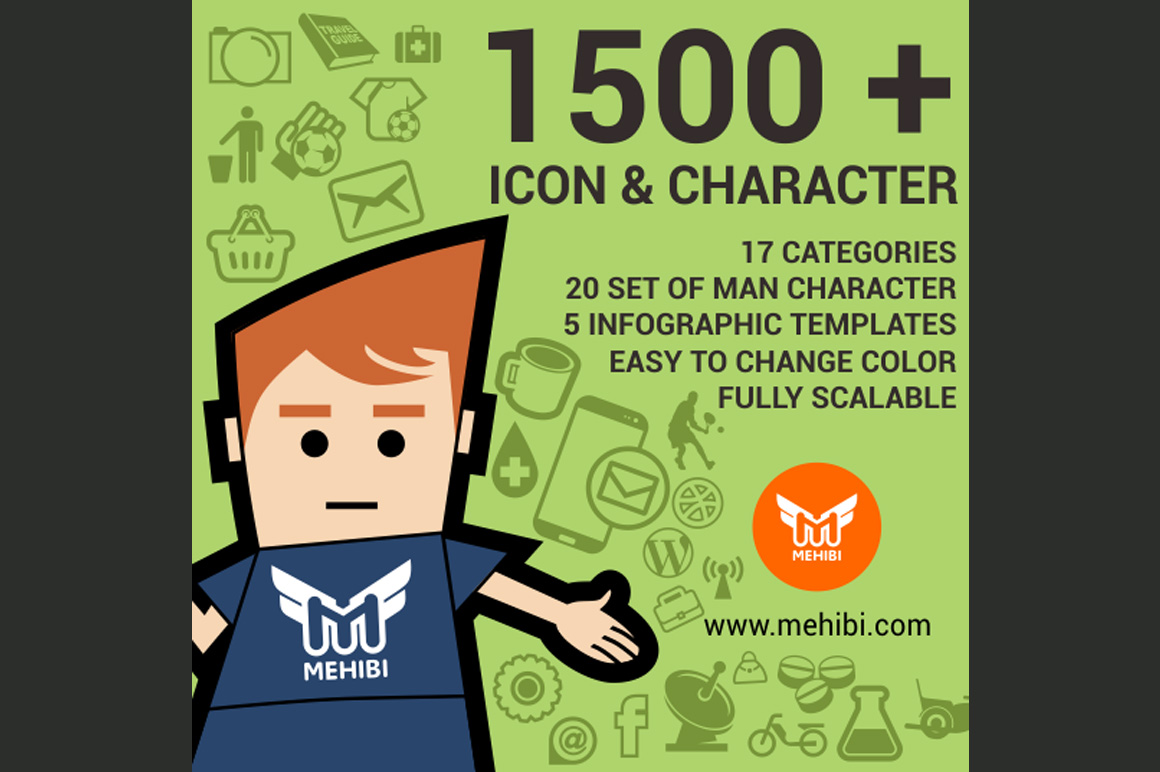 Icons Ninja Bundle – 1500+ Graphic Icons Just $27