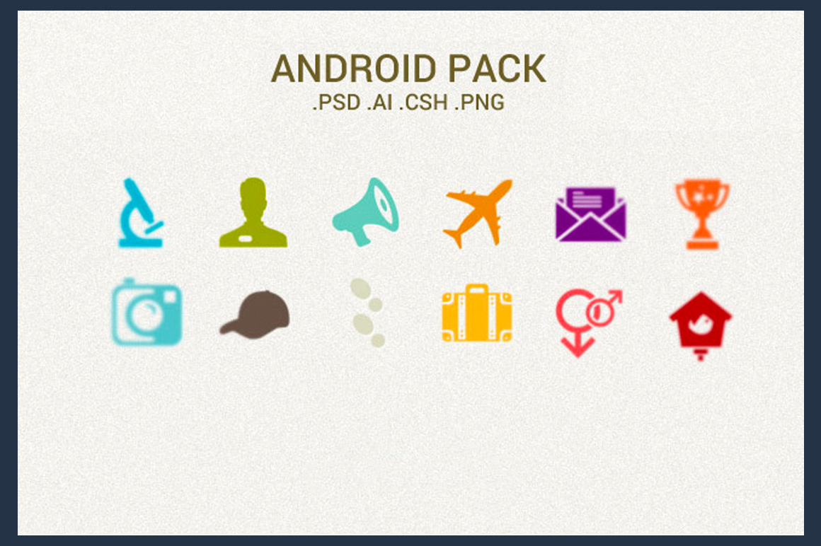 Android Pack - Download 4000 Awesome Icons