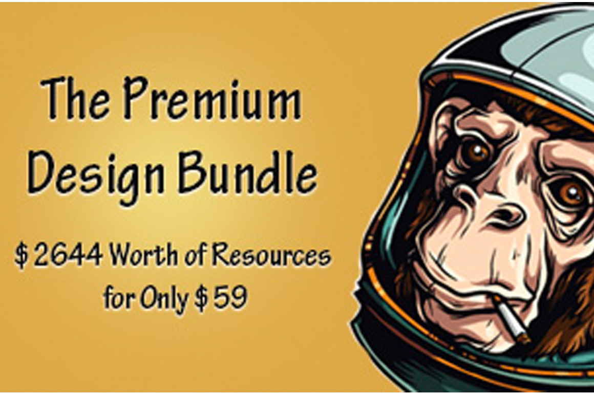 The Premium Design Bundle - $2644 Worth of Resources for Only $59