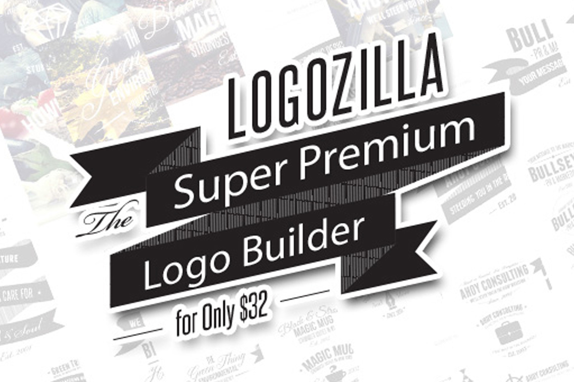 LogoZilla: The Super Premium Logo Builder for Only $32