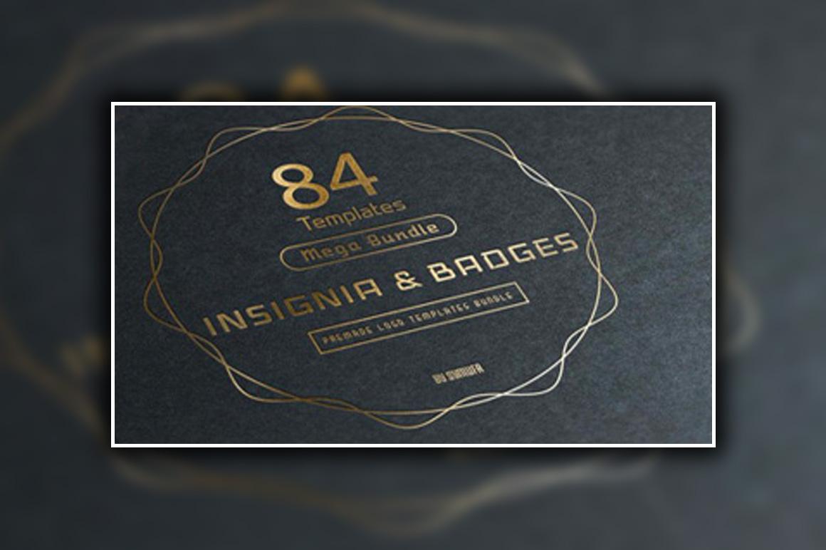 84 Insignia Logo and Badges Bundle
