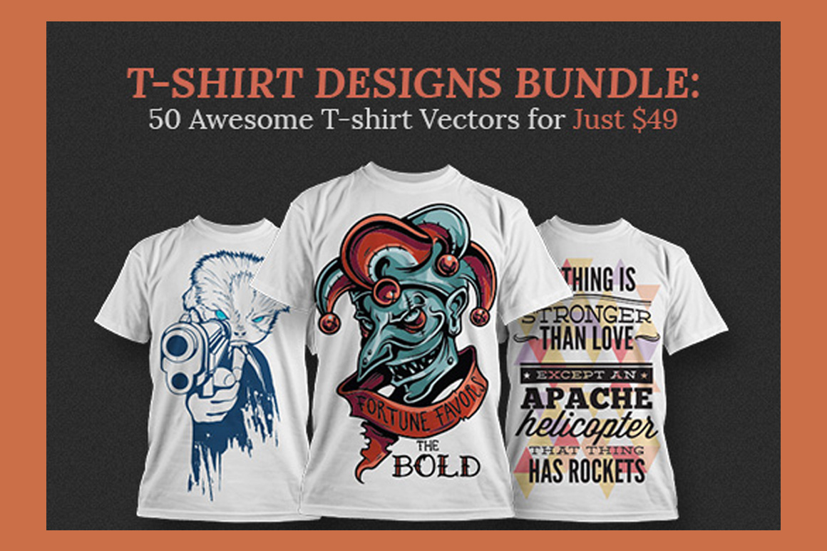 Download 50 Magnificent T-shirt Vectors