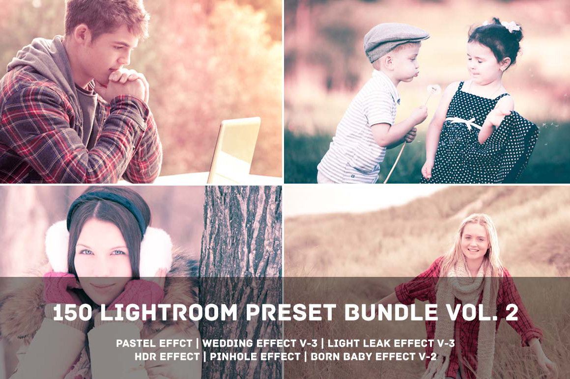 150 Lightroom Presets Bundle - Volume 2