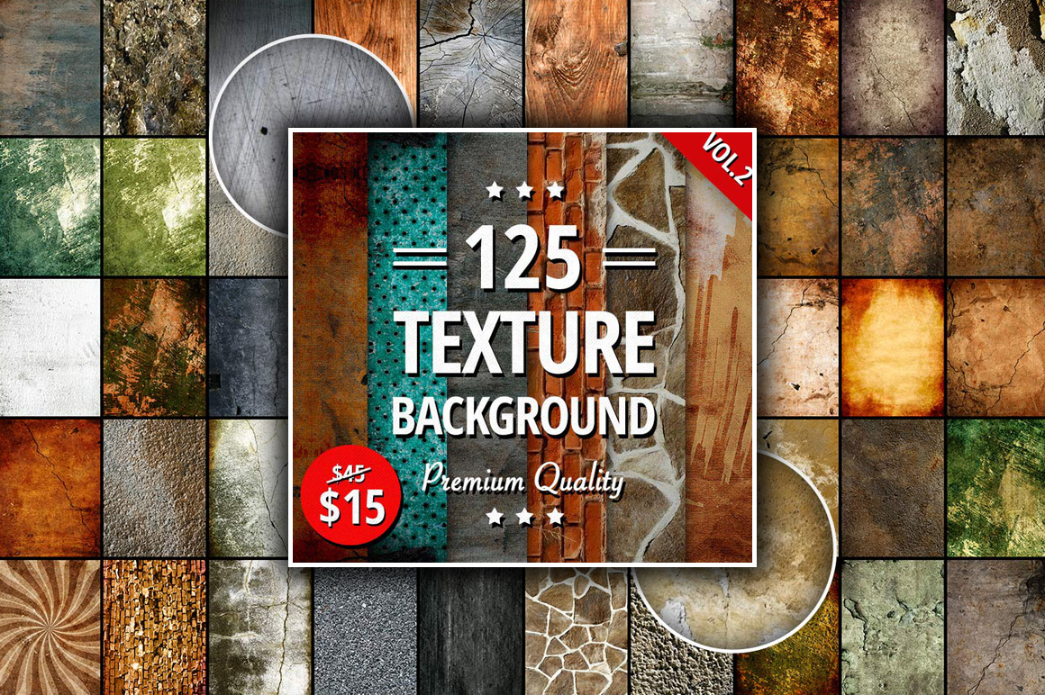 Download 125 High-Quality Textures - only $15