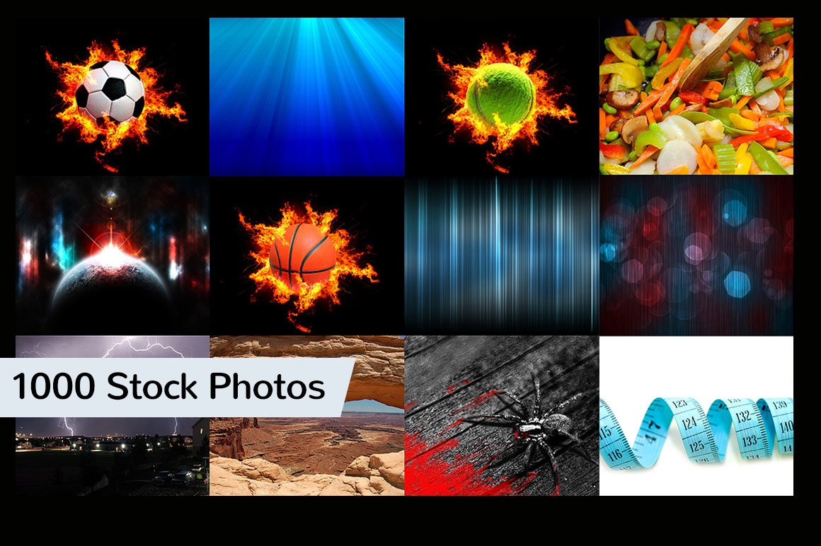 1000 Stock Photos for only $9