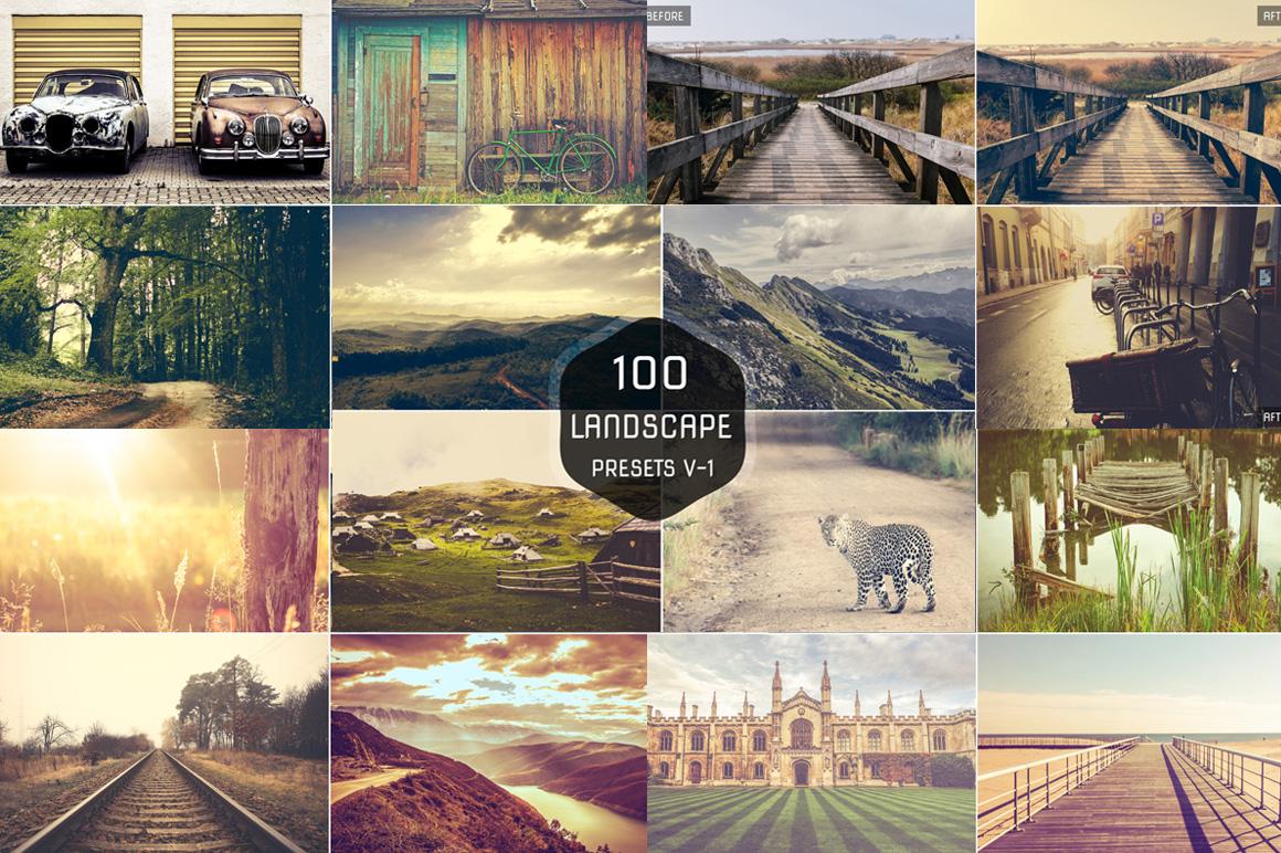 100 Premium Landscape Lightroom Presets