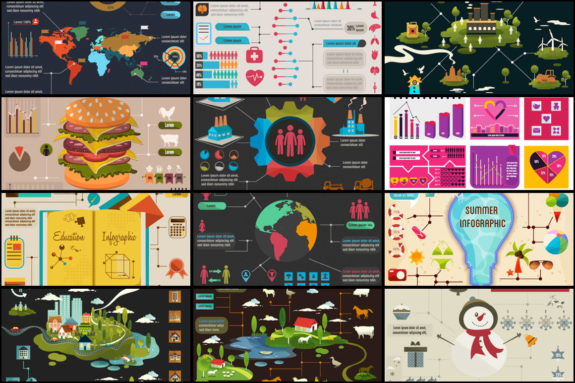 InfographZilla 3: The Super Premium Infographics Collection for Just $22