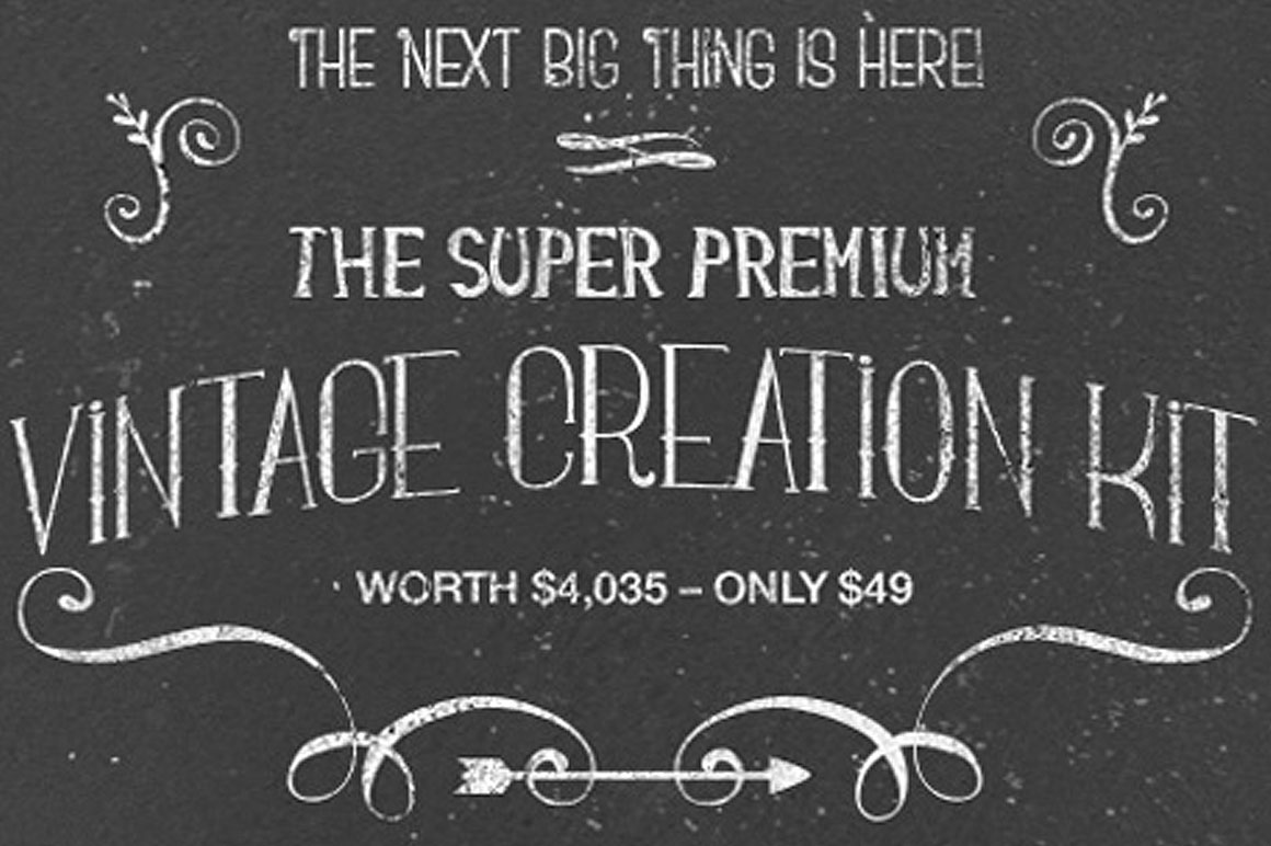 $4,035 worth of Super Premium Vintage Resources For Just $49