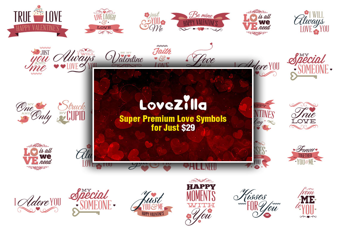LoveZilla Super Premium Love Mega Set with an Extended License