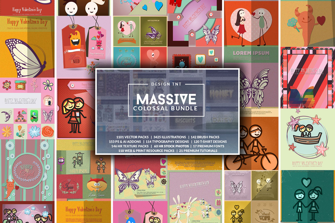 The Massive Colossal Bundle: $38,108 worth of Items with an Extended License - For Just $119