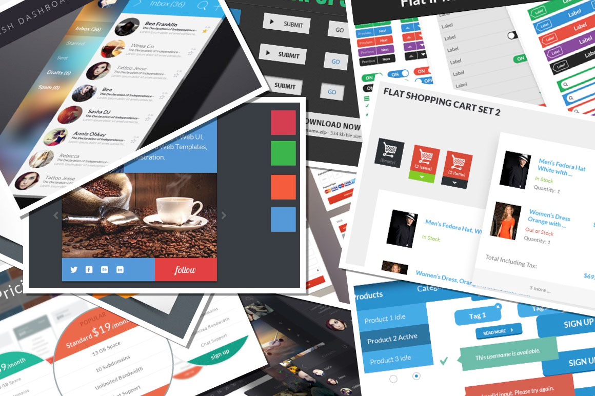 The User Interface Giga Set Hundreds of Premium Items + Bonus for Just $19