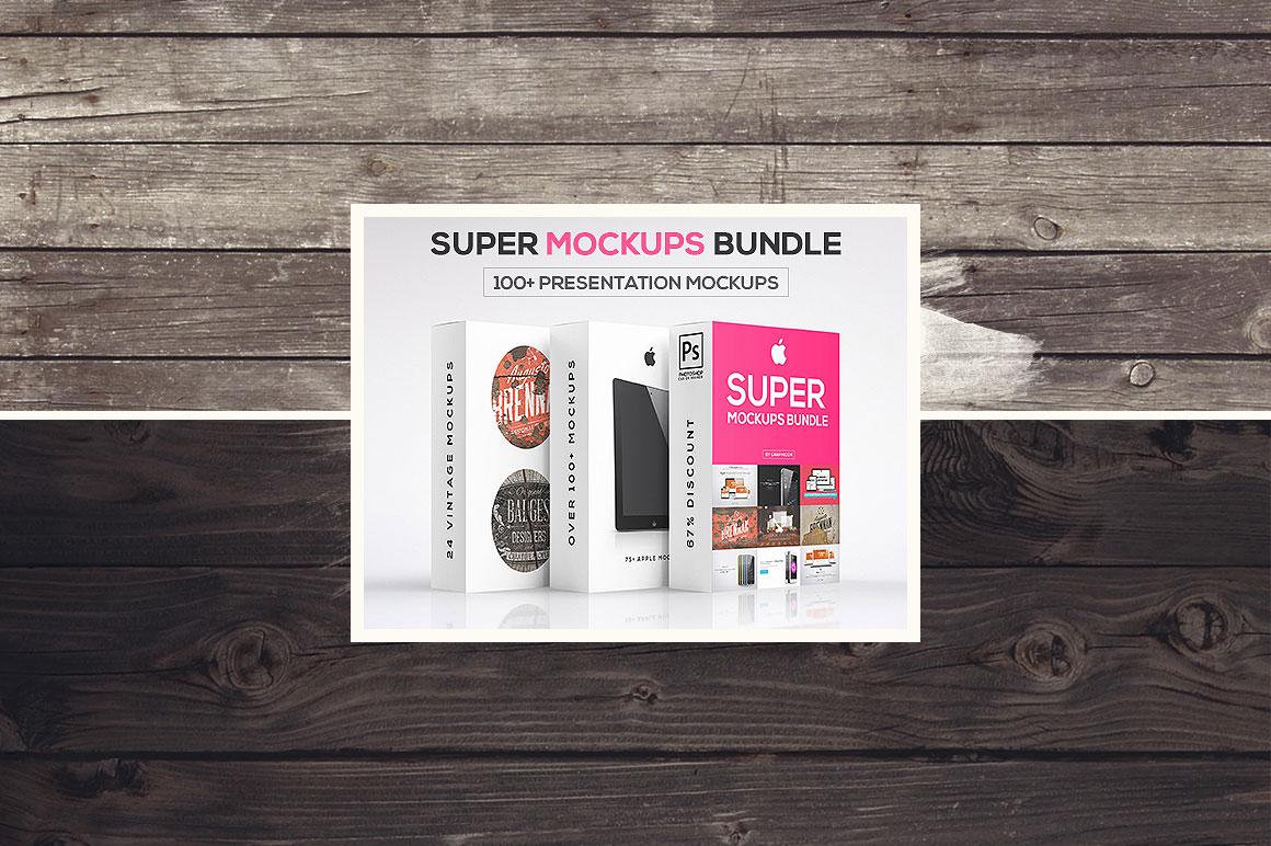 100+ Presentation Mockups Bundle