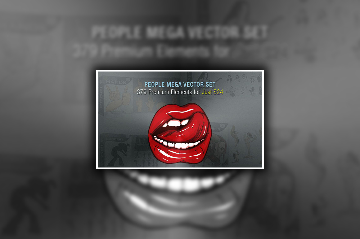 People Mega Vector Set: 379 Premium Elements