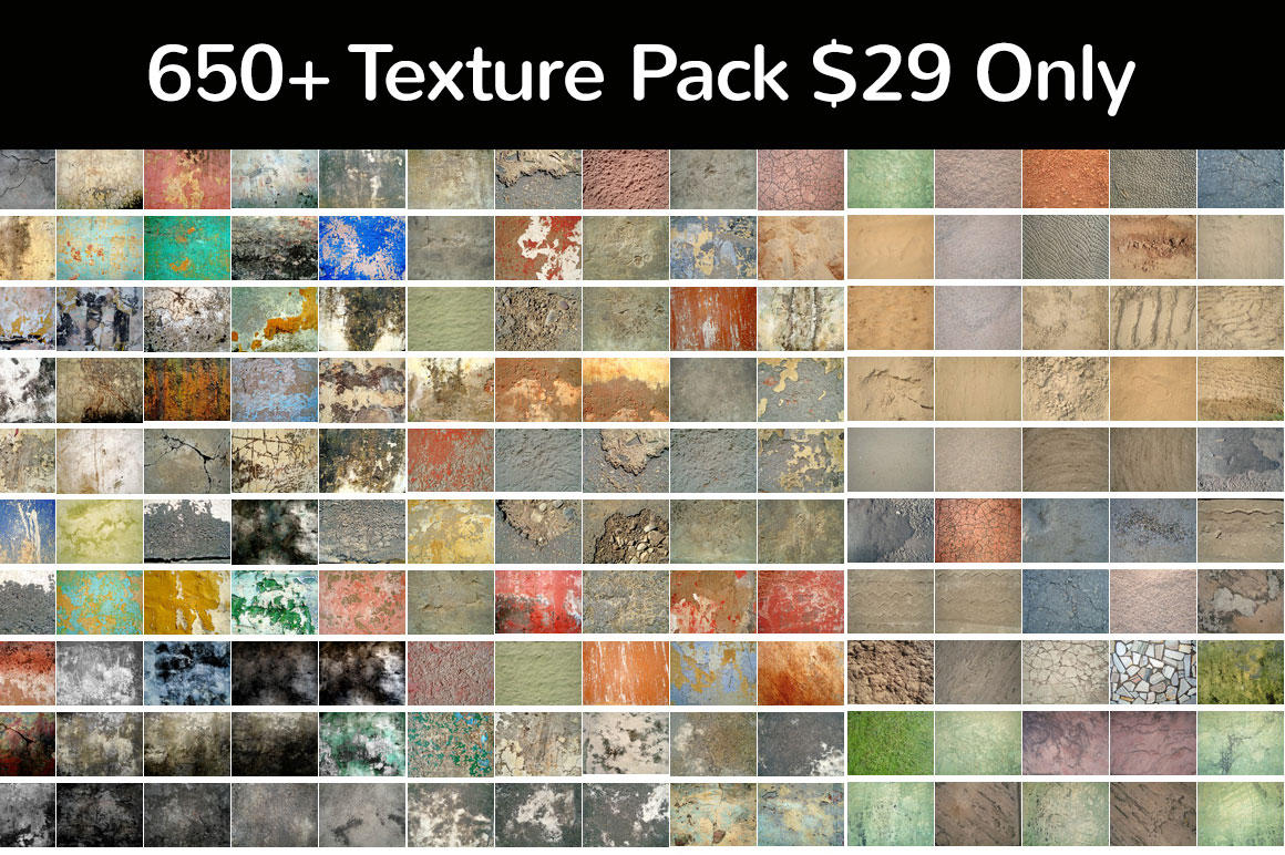 650+ Texture Pack $29 Only