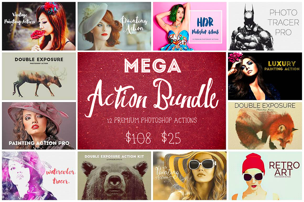 Mega Action Bundle - only $25