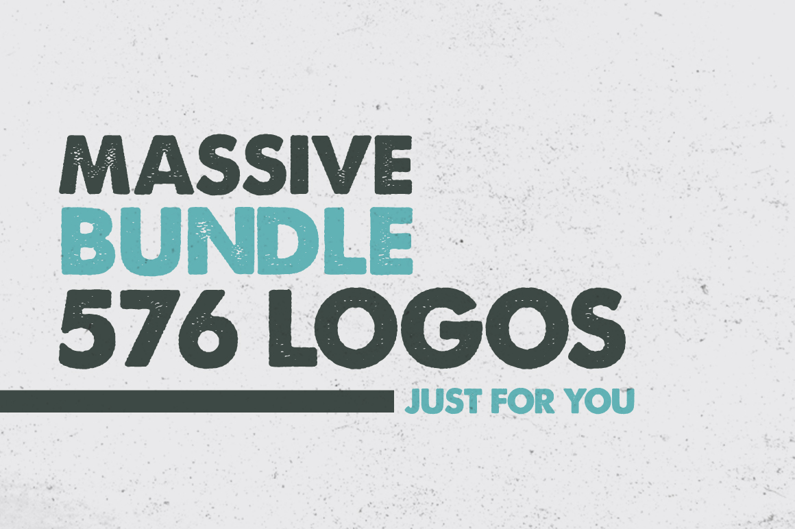 MASSIVE BUNDLE of 576 Vintage Logos
