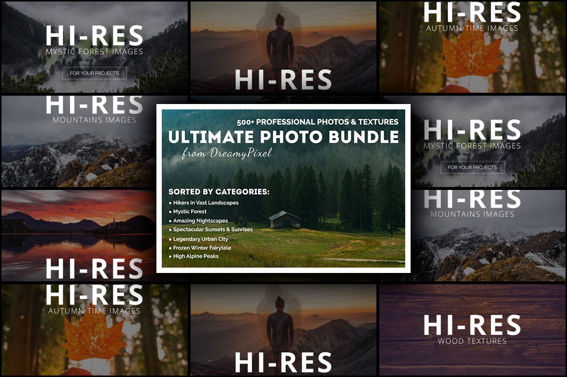 Ultimate Photo Bundle from DreamyPixel