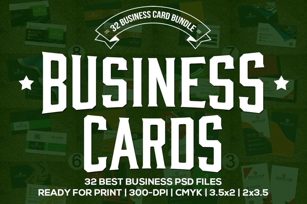 Get 32 Business Cards for only $15