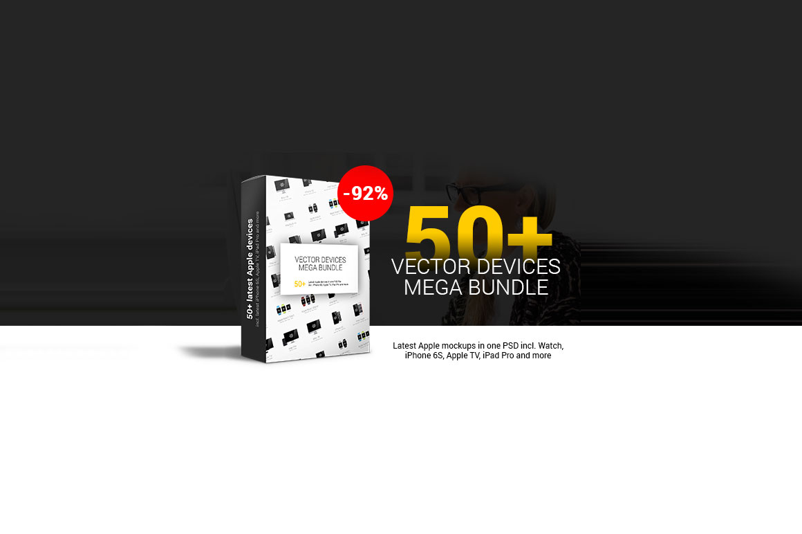 50+ Vector Devices Mega Bundle